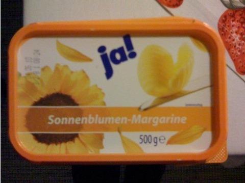 ja! Sonnenblumen-Margarine 500g