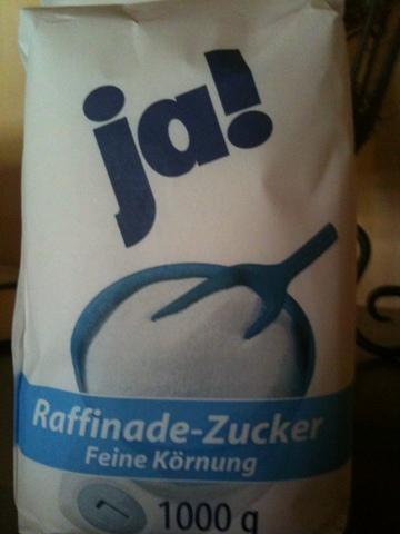 ja! Raffinade-Zucker Feine Körnung