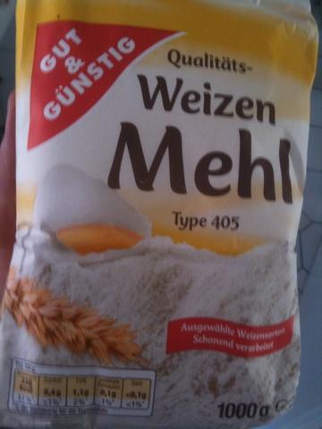 Gut & Günstig Qualitäts-Weizenmehl Type 405