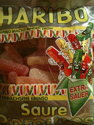 Haribo Saure Pommes