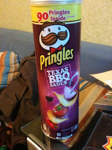 Pringles Texas Barbecue Sauce