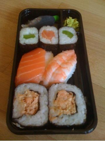 Aldi Sushi-Box Sunakku