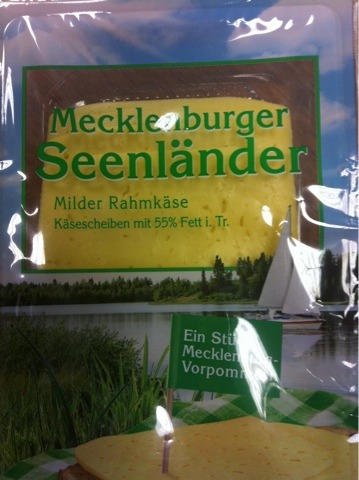 Mecklenburger Seenländer Milder Rahmkäse 150g