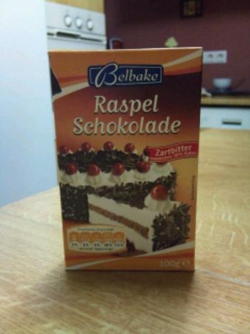 Belbake Raspelschokolade Zartbitter 100 g