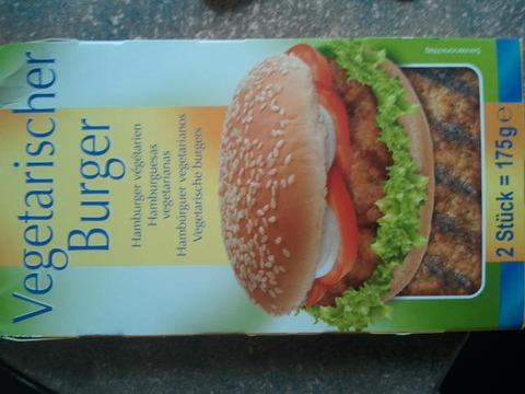 Fit & Activ Vegetarischer Burger 2 Stück 175 g