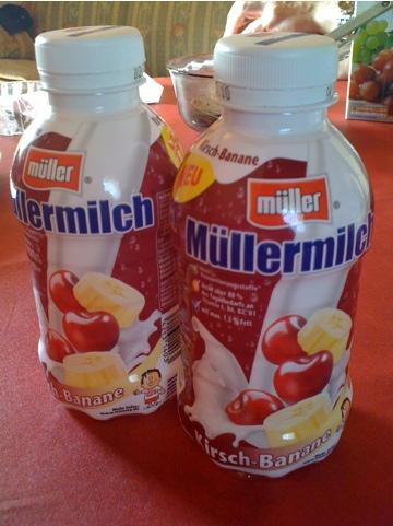Müllermilch Kirsch-Banane 400 ml