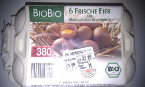 BioBio 6 frische Eier