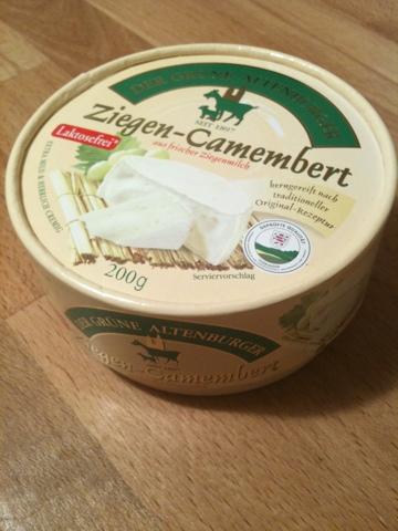 """Der Grüne Altenburger """"Ziegen-Camembert kerngereift"""""""