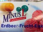 MinusL Erdbeer-Eiskrem 2x150ml