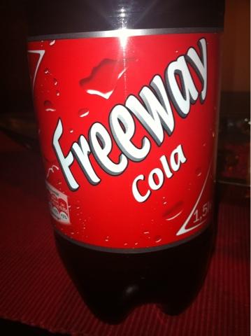 Freeway Cola 1,5 l PET
