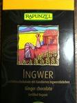 Rapunzel Ingwer Zartbitterschokolade mit kandierten Ingwerstücken