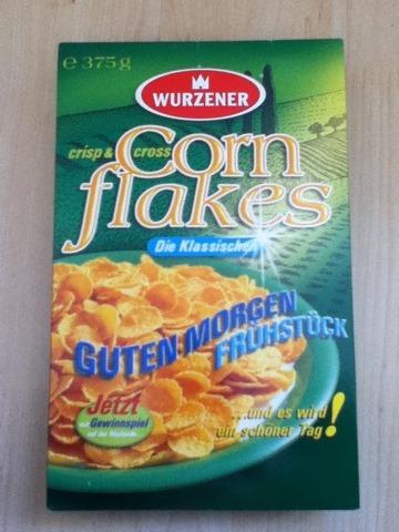 Wurzener Crisp & Cross Cornflakes Die Klassischen