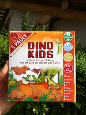 3 Pauly - Dino Kids Kinderkeks
