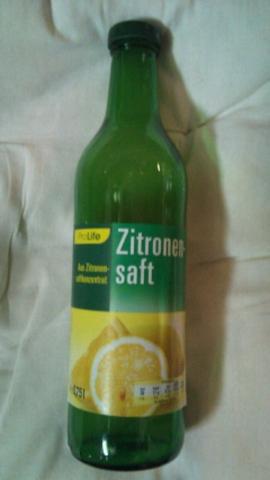ProLife Zitronensaft aus Zitronensaftkonzentrat 0,75 l