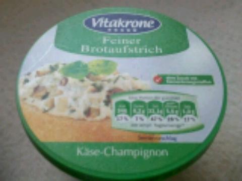 Vitakrone Käse & Champignon Brotaufstrich 150g