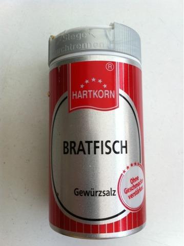Hartkorn Gewürz - Bratfisch Gewürzsalz