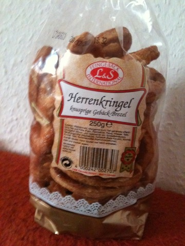 Feingebäck L&S International Herrenkringel 250 g