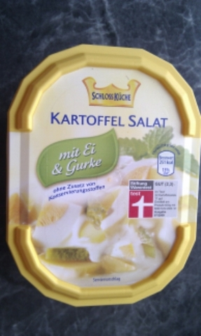 Schlossküche Kartoffelsalat mit Gurke & Ei