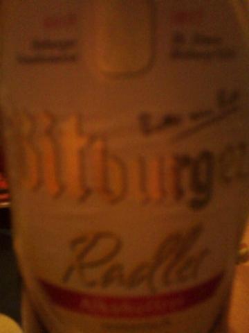 Bitburger Radler Alkoholfrei 0,5 l