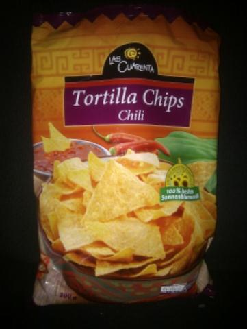 Las Cuarenta Tortilla Chips Chili