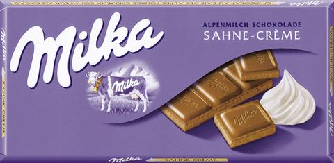 Milka Sahne-Creme 4025700001337