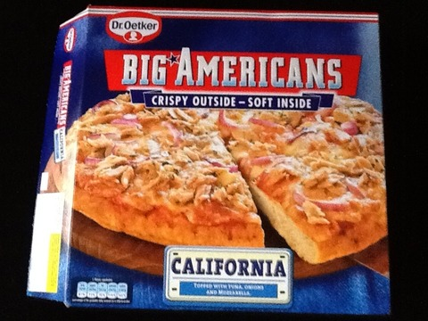 Dr. Oetker Big Americans California 490 g