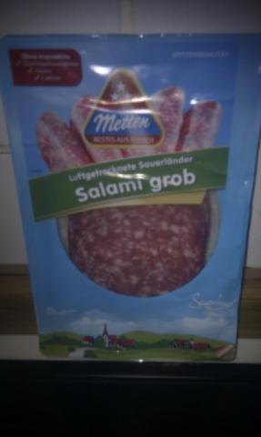 Metten Luftgetr. Sauerländer Salami