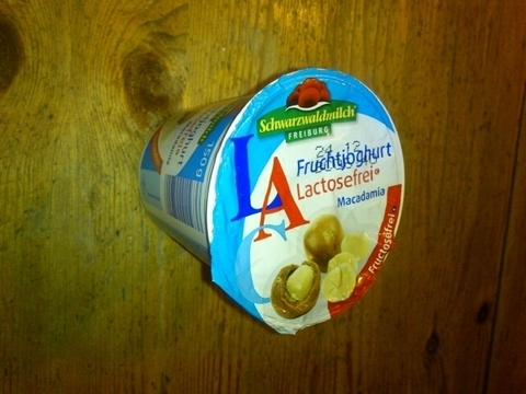 Schwarzwaldmilch LAC fructosefreier Macadamia-Joghurt