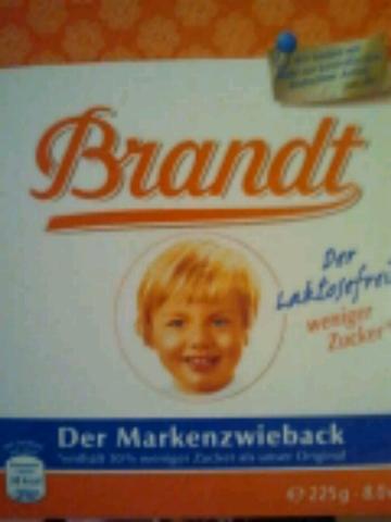 Brandt Zwieback laktosefrei