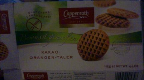 Coppenrath Kakao-Orangen-Taler 125g