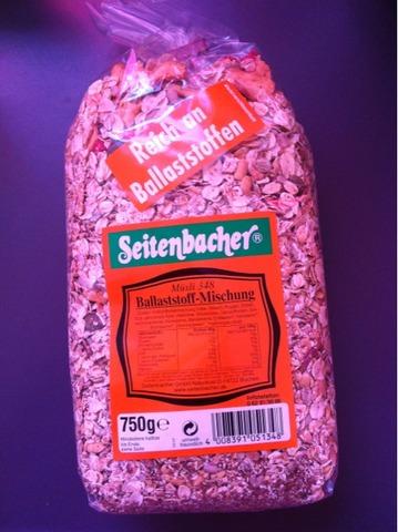 Seitenbacher Müsli 348 Ballaststoffmischung (Früchte & Saaten) 750 g