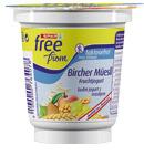 SPAR free from Fruchtjogurt Bircher-Müesli – 3,6 % Fett, 150 g