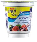 SPAR free from Fruchtjogurt Waldbeer - 3,6 % Fett, 150 g