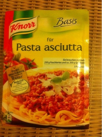 Knorr Pasta asciutta