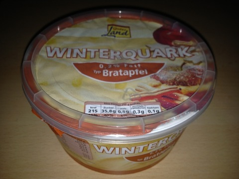 Gutes Land Winterquark Bratapfel 500 g