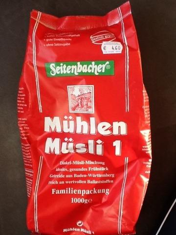 Seitenbacher Mühlen Müsli 1 (Rosinen & Erdnüsse) 1000 g