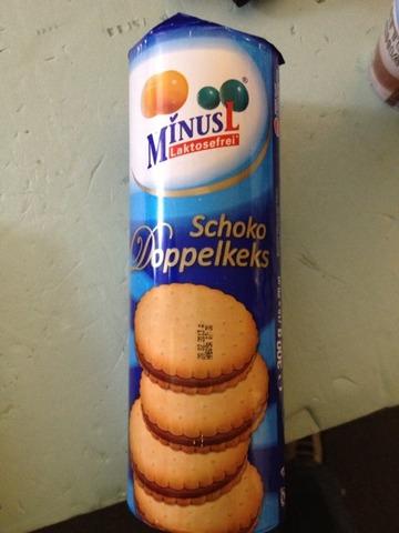 MinusL Schoko Doppelkeks