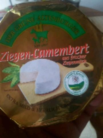 """Der Grüne Altenburger """"Ziegen-Camembert"""""""