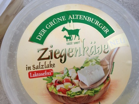 "Der Grüne Altenburger ""Ziegen-Camembert in Salzlake"""