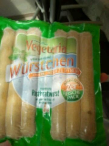 Vegetaria Vegetarische Rostbratwurst 6 Stück 330 g