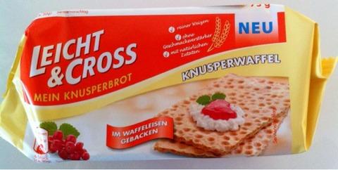 Leicht & Cross Knusperwaffeln