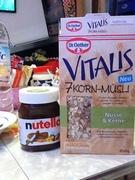 Vitalis 7 Korn Müsli Nüsse & Kerne 450 g