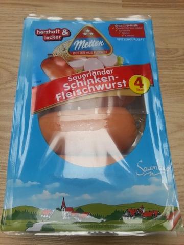 Metten Sauerländer Schinken Fleischwurst