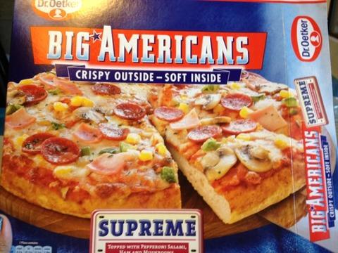 Dr. Oetker Big Americans Supreme 450 g