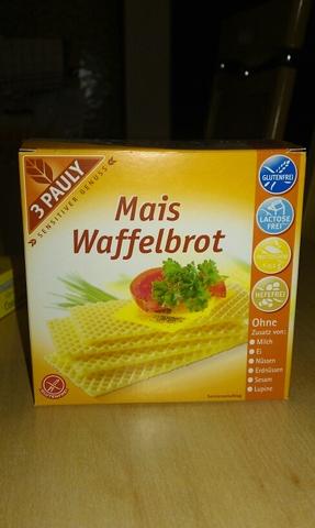 3 Pauly - Mais Waffelbrot