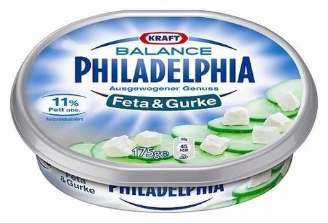 Philadelphia Balance Feta & Gurke 175 g