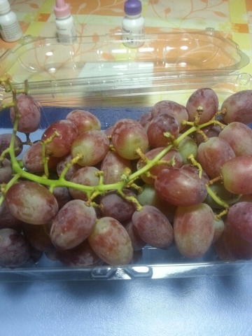 "Frudis SRL Italienische Tafeltrauben seedless ""Crimson"" 500 g"