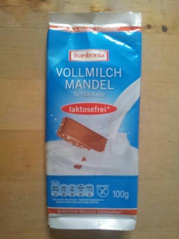 Frankonia Vollmilch-Mandel-Schokolade 100 g
