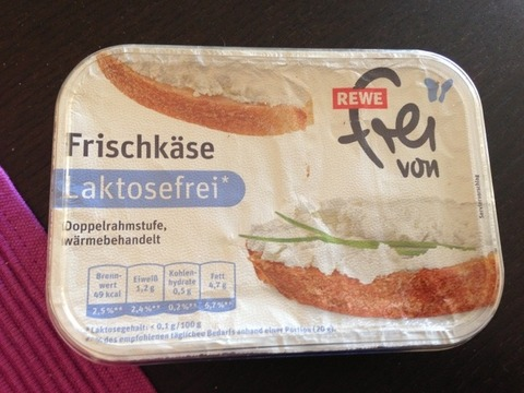 """Frischkäse Laktosefrei REWE """"frei von"""" 175 g"""