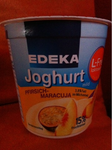 Edeka Joghurt L-FREI  150 g Pfirsich-Maracuja
